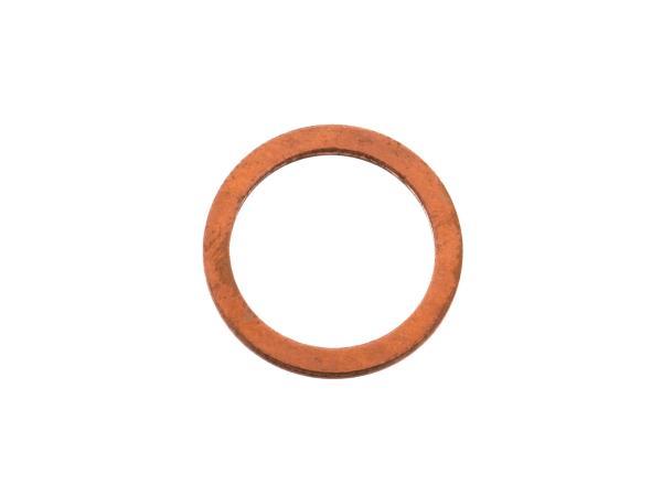 Dichtring Ø12x16 (Kupfer) Schaltarretierschraube ETZ125, ETZ150,  10056011 - Bild 1