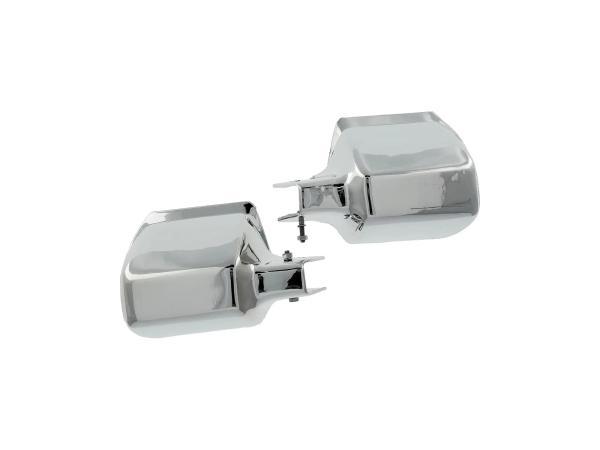 Protektoren chrom-Optik passend für MZ  Satz (Handschützer),  10055258 - Bild 1