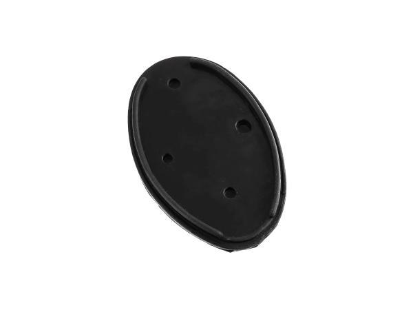 Gummiunterlage oval für Rücklicht - für MZ ES, AWO, RT, BK, IWL,  10013539 - Bild 1