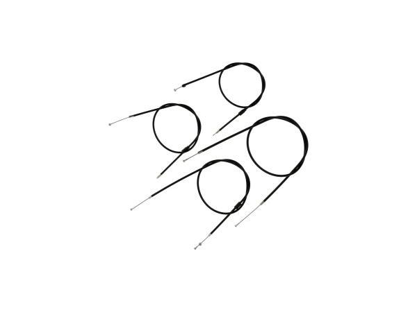 Bowdenzug-Set in Schwarz - für Simson S51, S70, S53, S83 Enduro,  10066121 - Bild 1