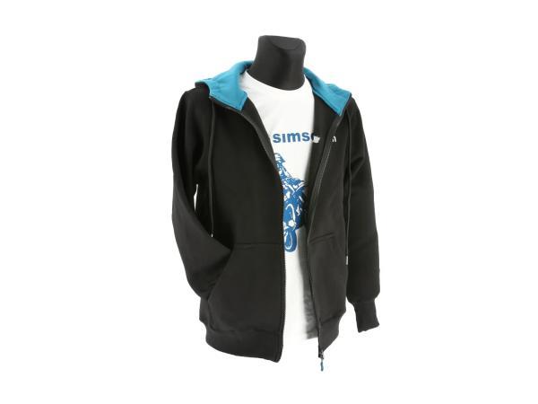 """Zipp-Jacke """"SIMSON"""" - Schwarz/Blau,  10070688 - Bild 1"""
