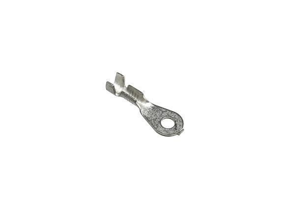10055110 Kabelschuh - Ringzunge ØM3 ohne Isolierung (0,5-1,0mm²) - Bild 1