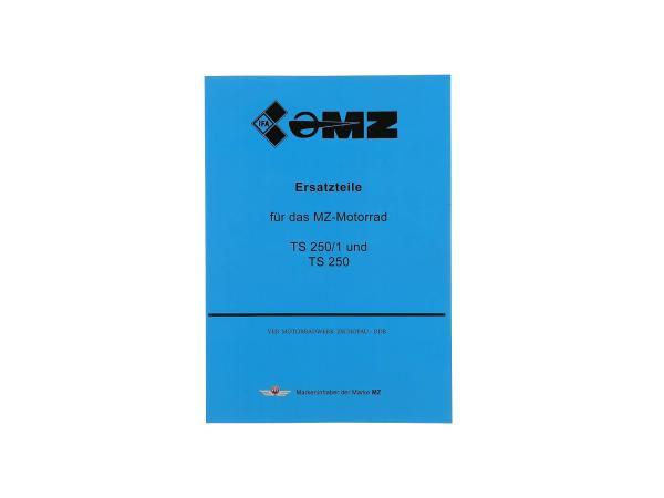 Ersatzteilkatalog - MZ TS 250/1, TS250,  10003659 - Bild 1