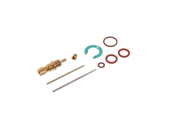 Reparatursatz für Vergaser (9-teilig, NB20, Flachschieber) - für IWL Pitty, SR56 Wiesel,  10057050 - Bild 1