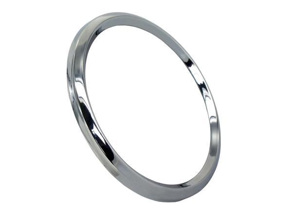 Chromring/ Tachoring für Tachometer und Drehzahlmesser ETZ, TS, ETS - Ø=80mm,  10060935 - Bild 1