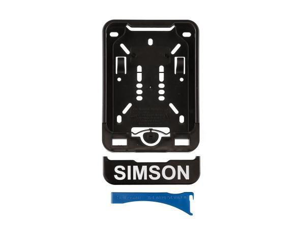 Wechsel-Kennzeichenhalterung mit Aufdruck SIMSON,  10067297 - Bild 1