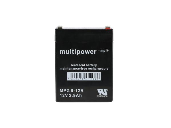 GP10000671 Batterie - 12V 2,9Ah Multipower (Gelbatterie) - Bild 1