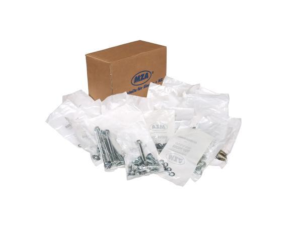 Set: Schrauben universal für komplettes Fahrzeug S51, S70,  10016329 - Bild 1