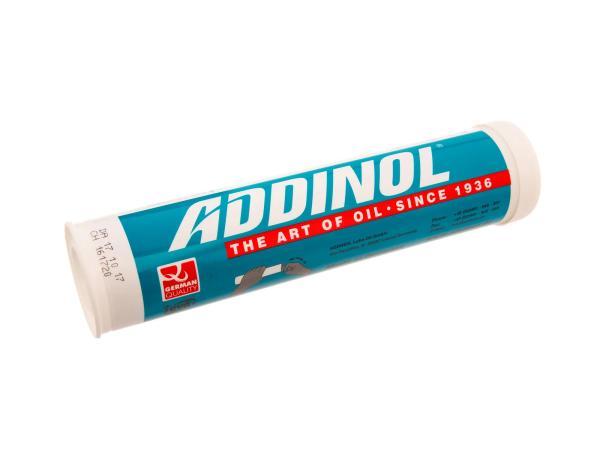 10007786 ADDINOL LM2 Fett Patrone (Kartusche), Mehrbereichsfett, bis 140 Grad, Mineralölbasis - 400g Kartusche - Bild 1