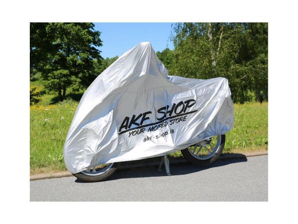 "Abdeckplane ""AKF Shop - your moped store"" - grau,  10062332 - Bild 1"
