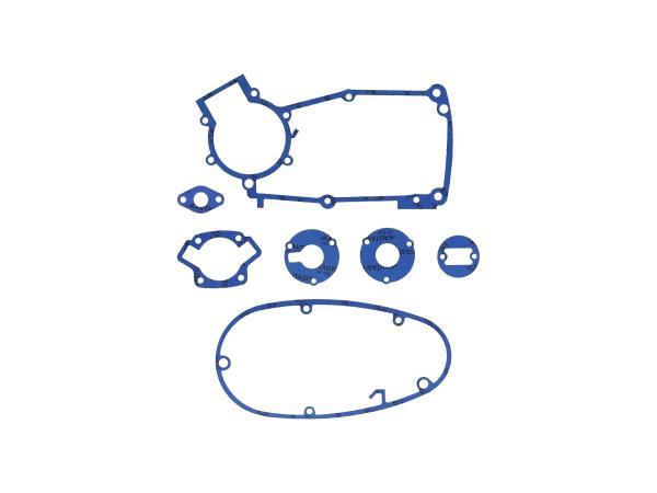 GP10000574 Dichtungssatz aus Kautasit Motortyp M53/2, Flanschdichtung 2mm, Ø 16mm - für Simson S50, Schwalbe KR51/1 - Bild 1