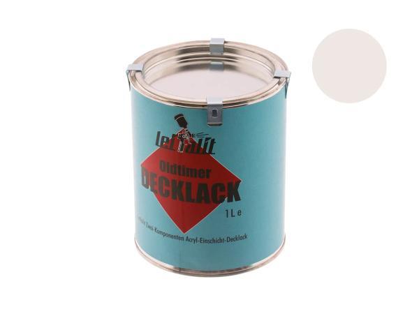 10031053 Lackfarbe 2K Leifalit Pastellweiß - 1Liter - Bild 1