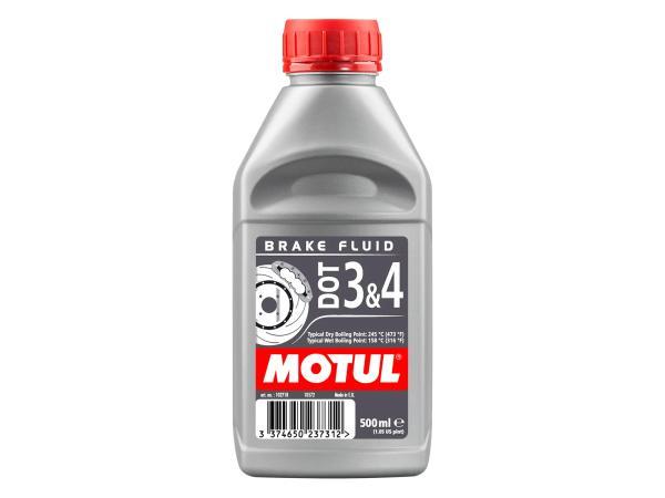 10055410 MOTUL DOT 3+4 Brake Fluid - Bremsflüssigkeit - 0,5 Liter - Bild 1