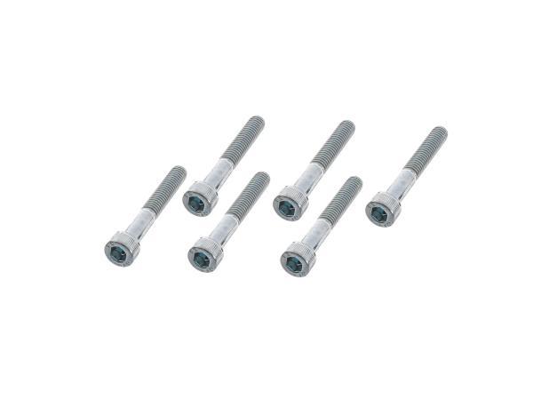 Set: Zylinderschrauben, Innensechskant Kupplungsdeckel Motor S51,  10001244 - Bild 1