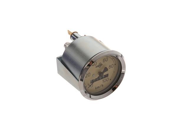 Tachometer MESTRA, 100 Km/h, AS 60mm - IWL Pitty, SR56 Wiesel, SR59 Berlin,  10064121 - Bild 1
