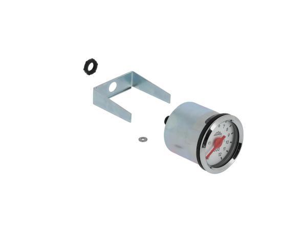 Mechanischer Drehzahlmesser Ø48mm, Gehäuse mit Lichtschlitz,  10070518 - Bild 1