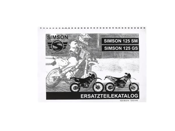 Ersatzteilkatalog Simson 125 SM/GS,  10061545 - Bild 1