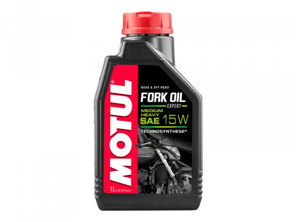10055420 MOTUL Fork Oil Expert medium/heavy Gabelöl 15W - 1 Liter - * - Bild 1