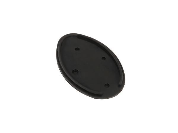 Gummiunterlage oval für Rücklicht - MZ ES, AWO, RT, BK, IWL,  10061055 - Bild 1