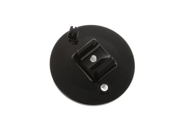 Bremsschild vorn, schwarz - Simson S50, S51, S70, S53, S83, SR50, SR80,  10066619 - Bild 1