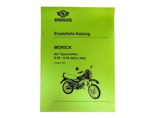 Ersatzteilekatalog S53 - S83  alpha, beta  Ausgabe 1994,  10059601 - Bild 1