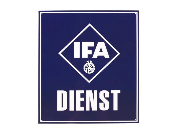 """Blechschild """"IFA DIENST"""",  10005632 - Bild 1"""