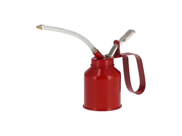 Retro-Ölkanne aus Blech, mit Pumpfunktion - 200ml,  10070412 - Bild 1