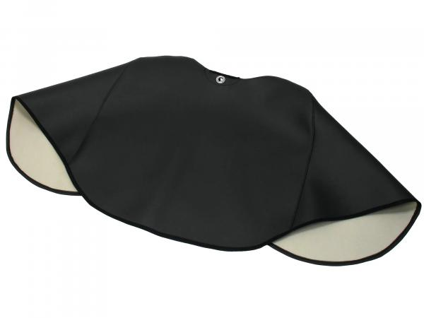 Knieschutzdecke schwarz, gefüttert, Handarbeit - Simson SR50, SR80,  10041114 - Bild 1