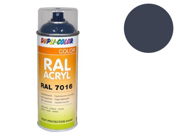 Dupli-Color Acryl-Spray RAL 7015 schiefergrau, glänzend - 400 ml,  10064839 - Bild 1