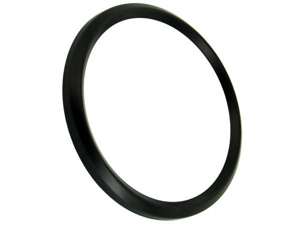 Frontring schwarz für Tachometer und DZM ETZ, TS, ETS (D=80mm),  10044082 - Bild 1