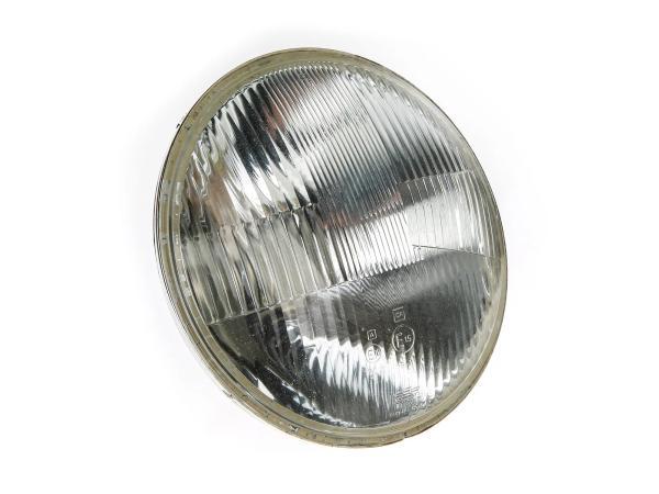 10060702 Scheinwerfereinsatz 8709.18/2 (rechtsasymmetrisch) Bilux - MZ TS150, TS250, ETZ, auch div. Ost-KFZ! - Bild 1