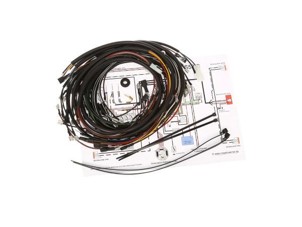 Kabelbaumset S53 Comfort, S53 B für PVL-Zündanlage mit Schaltplan,  10066451 - Bild 1
