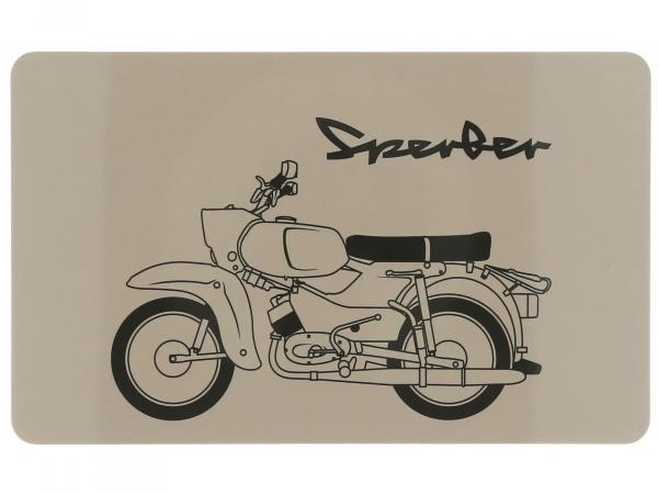 """10070853 Frühstücksbrettchen """"Sperber"""" 23,3 x 14,3 cm - Bild 1"""