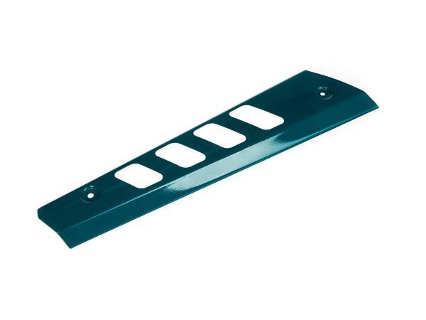 10064449 Hitzeschutz kurz, wasserblau pulverbeschichtet - Simson S53, S83 Beta - Bild 1