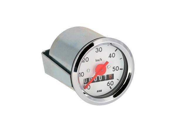 Tachometer Ø48mm für S50 bis 60 km/h,  10001718 - Bild 1