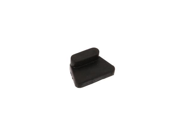 10065168 1x Gummi-Auflagekörper für Verkleidung rechts (Seitendeckel) - für ETZ - Bild 1