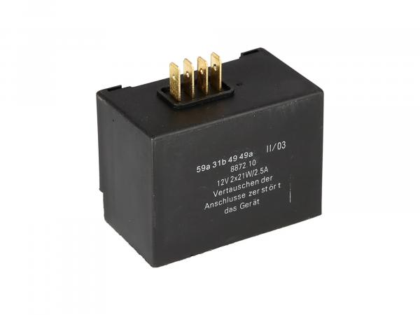 Elba 12V 2x 21W/2,5A (8872.10/1) - Simson S51, S53, S83, SR50, SR80, SD 25/50,  10068687 - Bild 1