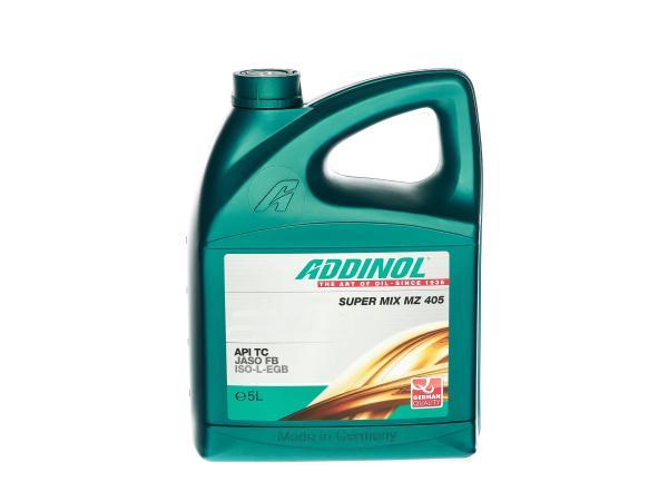 10014415 ADDINOL Zweitakt-Motorenöl MZ 405, Super Mix - 5l - Bild 1