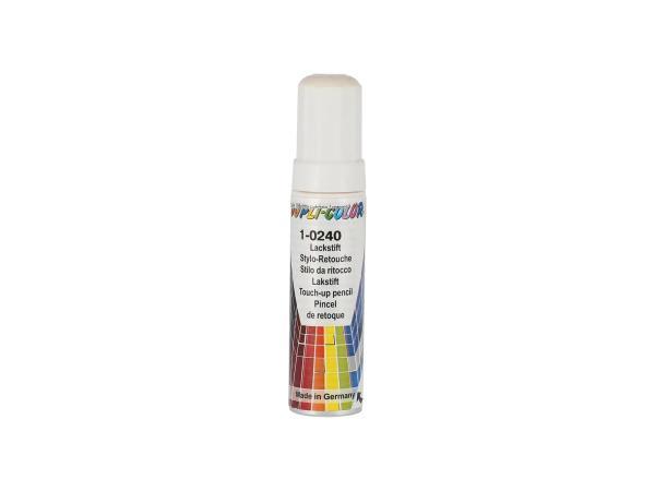 Dupli-Color Lackstift RAL 9001 cremeweiß, glänzend - 12ml,  10065036 - Bild 1