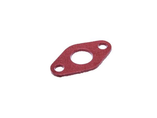 Isolierflanschdichtung 2mm stark, 16mm Durchlass in Rot,  10066806 - Bild 1