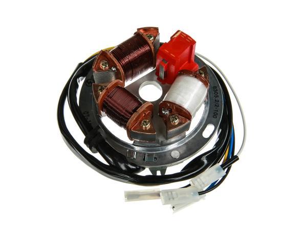 10058736 Grundplatte 8305.2/2-100, 12V Elektronik (42/21W Halogen) - Simson S53, S83 - Bild 1