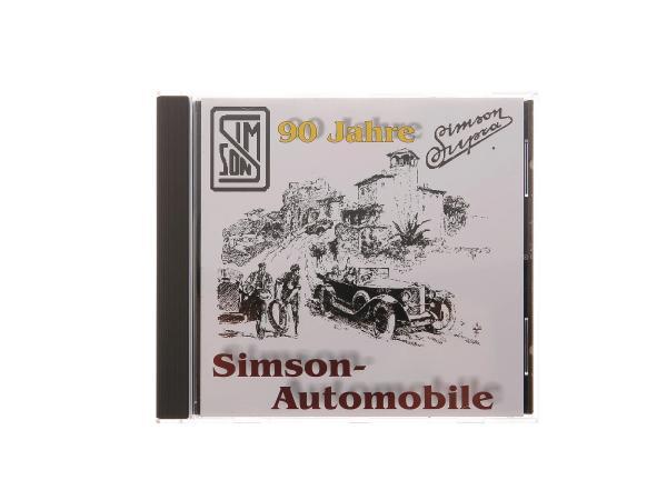 CD,  SIMSON Automobile -Der fast vergessene Oldtimer- (Entwicklung SIMSON-Automobile 1911-1934, Ersatzteilkatalog, Werbekatalog, Zeitdokumente),  10059456 - Bild 1