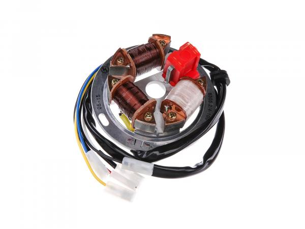 10058727 Grundplatte 8305.2/4-100, 12V Elektronik (42/21W Bilux) - Simson S53 - Bild 1
