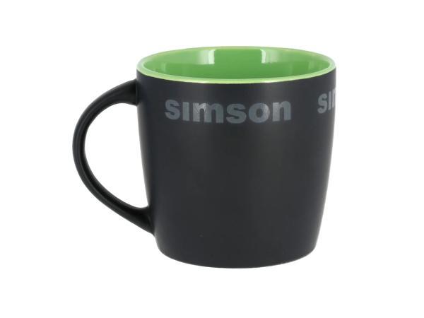 "Tasse ""SIMSON""  Schwarz / Grün,  10071112 - Bild 1"
