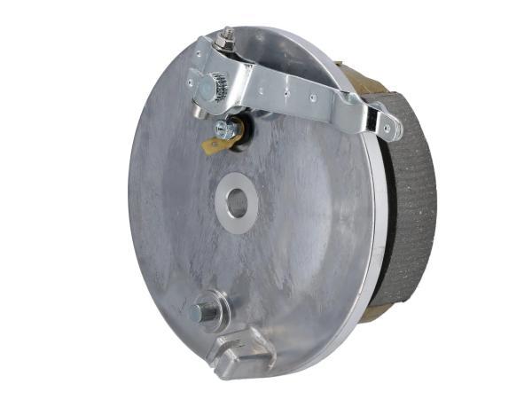 Bremsschild hinten komplett - für Simson S51, KR51/2 Schwalbe, S53, S70, S83,  10068591 - Bild 1