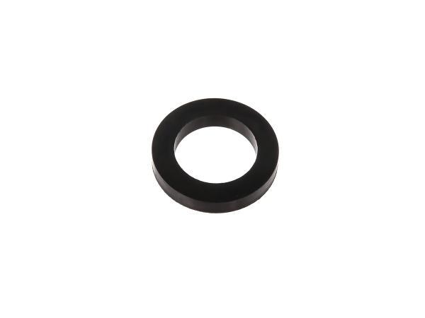 10000719 Gummi - Scheibe zur Abdeckung des Radlagers - für Simson S51, S50, SR50, Schwalbe KR51, SR4 - Bild 1