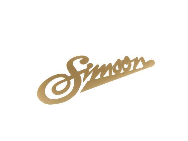 Klebefolie - SIMSON weich Gold,  10016630 - Bild 1