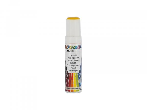 10065045 Dupli-Color Lackstift RAL 1021 rapsgelb, glänzend - 12ml - Bild 1