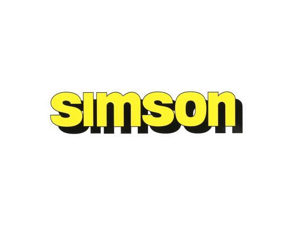 """Klebefolie Tank """"SIMSON"""" - Gelb,  10071181 - Bild 1"""