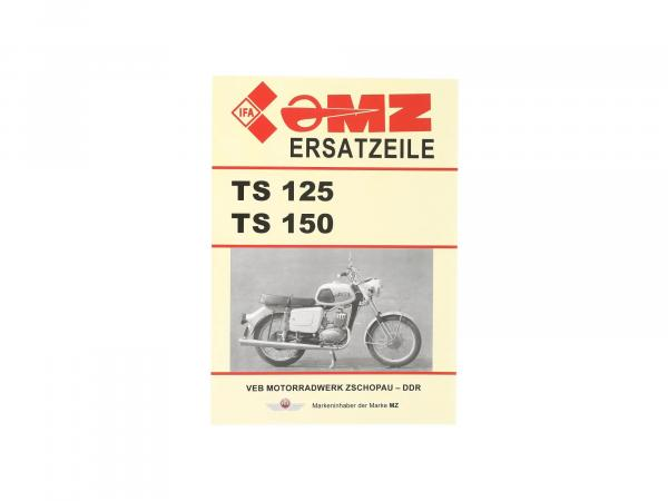 Ersatzteilkatalog TS125, TS150,  10056005 - Bild 1